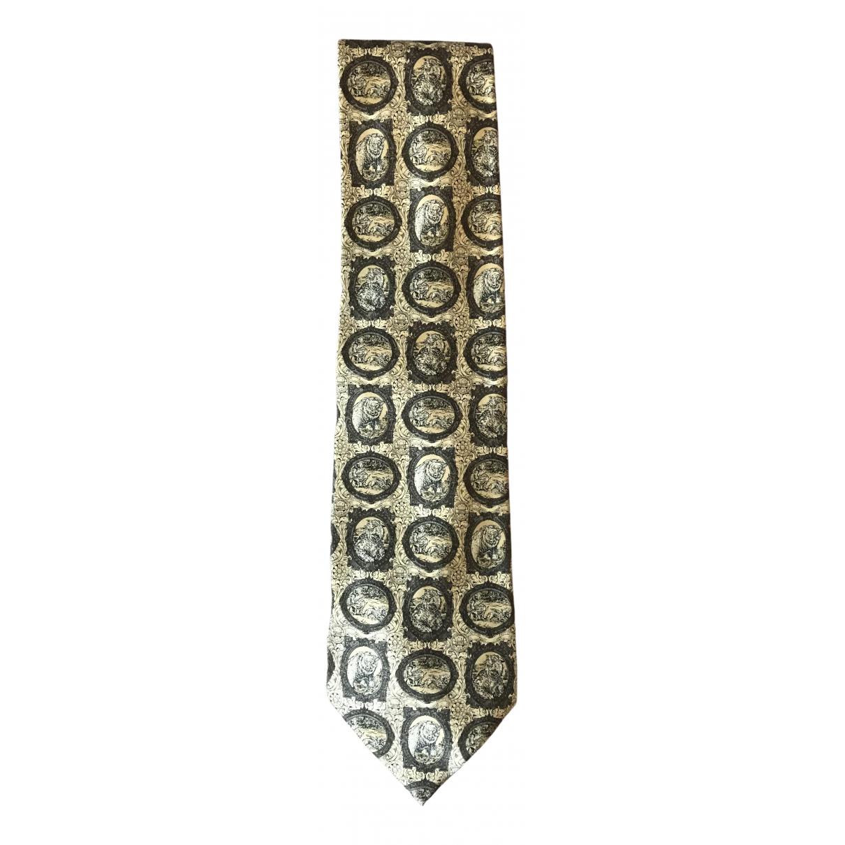 Gianfranco Ferre \N Krawatten in  Gold Seide