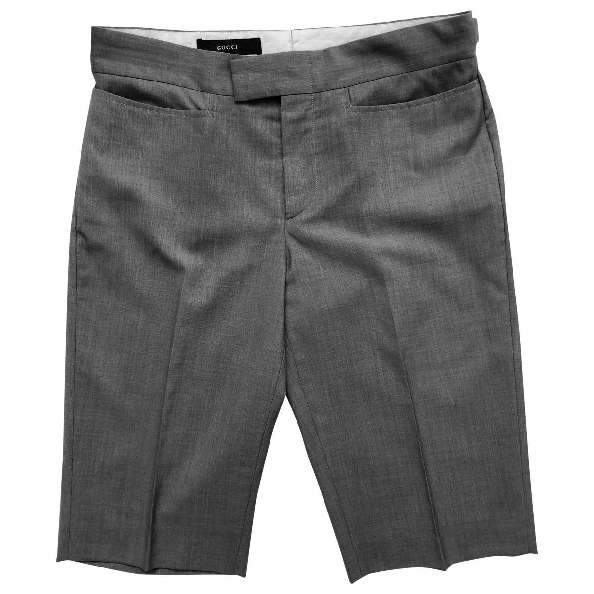 Gucci \N Grey Wool Shorts for Women 40 IT