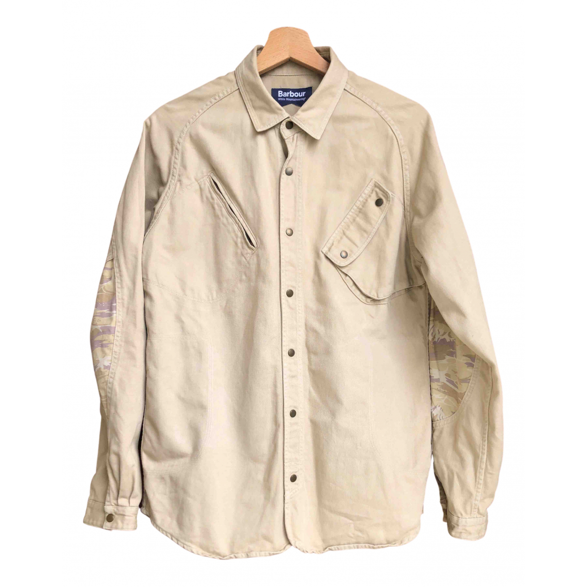 Barbour \N Beige Cotton Shirts for Men M International