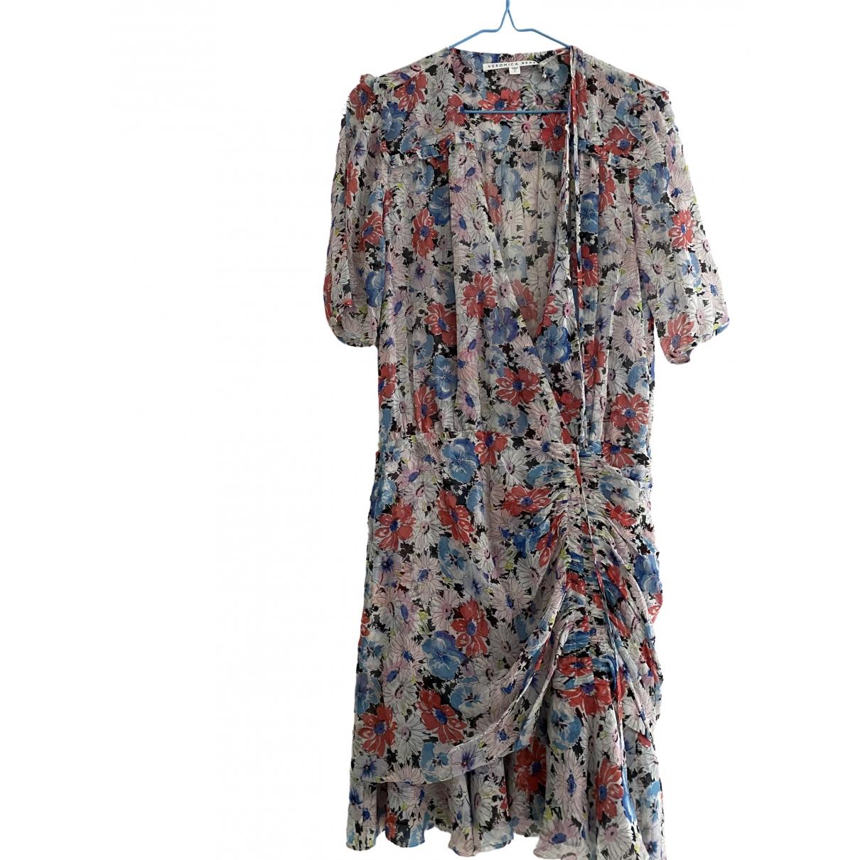 Veronica Beard - Robe   pour femme en soie - multicolore