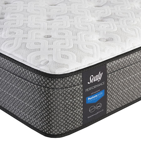 Sealy Besant Cushion Firm Eurotop - Mattress Only, One Size , White