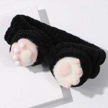 Badestirnband mit Katzenklaue Design