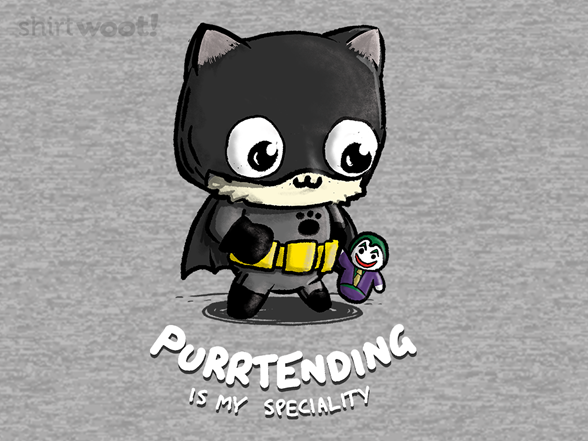 Purrtending T Shirt