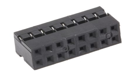 HARWIN , M22-30 Female Connector Housing, 2mm Pitch, 16 Way, 2 Row (10)