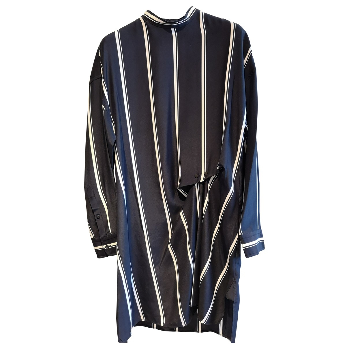 Rag & Bone - Robe   pour femme en soie - marine