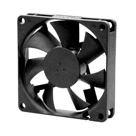 Sunon , 12 V dc, DC Axial Fan, 70 x 70 x 15mm, 27cfm, 1.56W