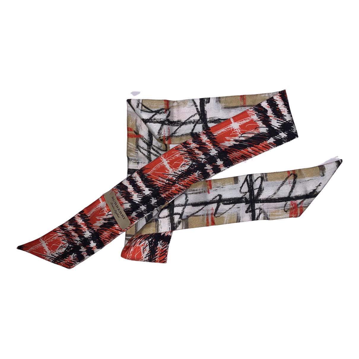 Burberry N Multicolour Silk scarf for Women N