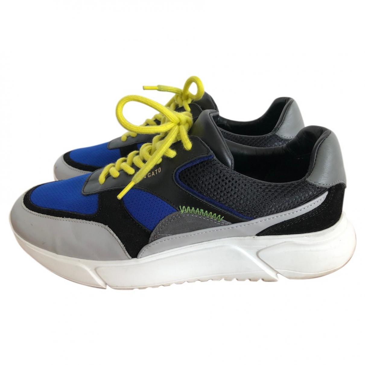 Axel Arigato - Baskets   pour homme en cuir - bleu