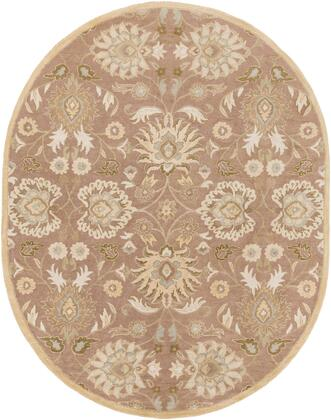 Caesar CAE-1108 6' x 9' Oval Traditional Rug in