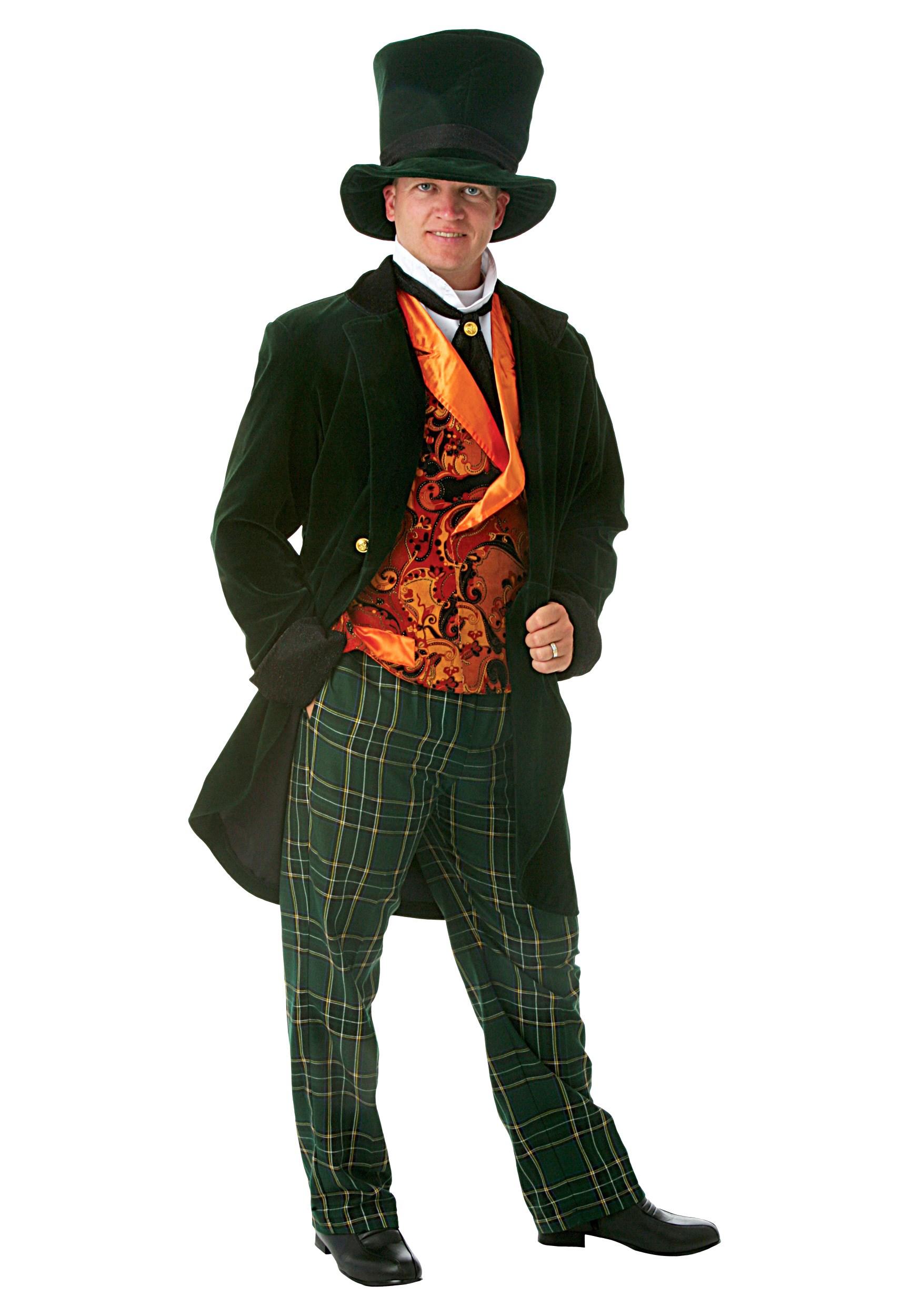 Deluxe Mad Hatter Costume for Men