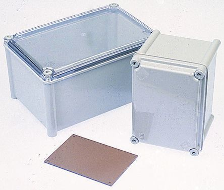 CAHORS GRP Combiester, Grey Fibreglass Enclosure, IP66, 270 x 135 x 129mm