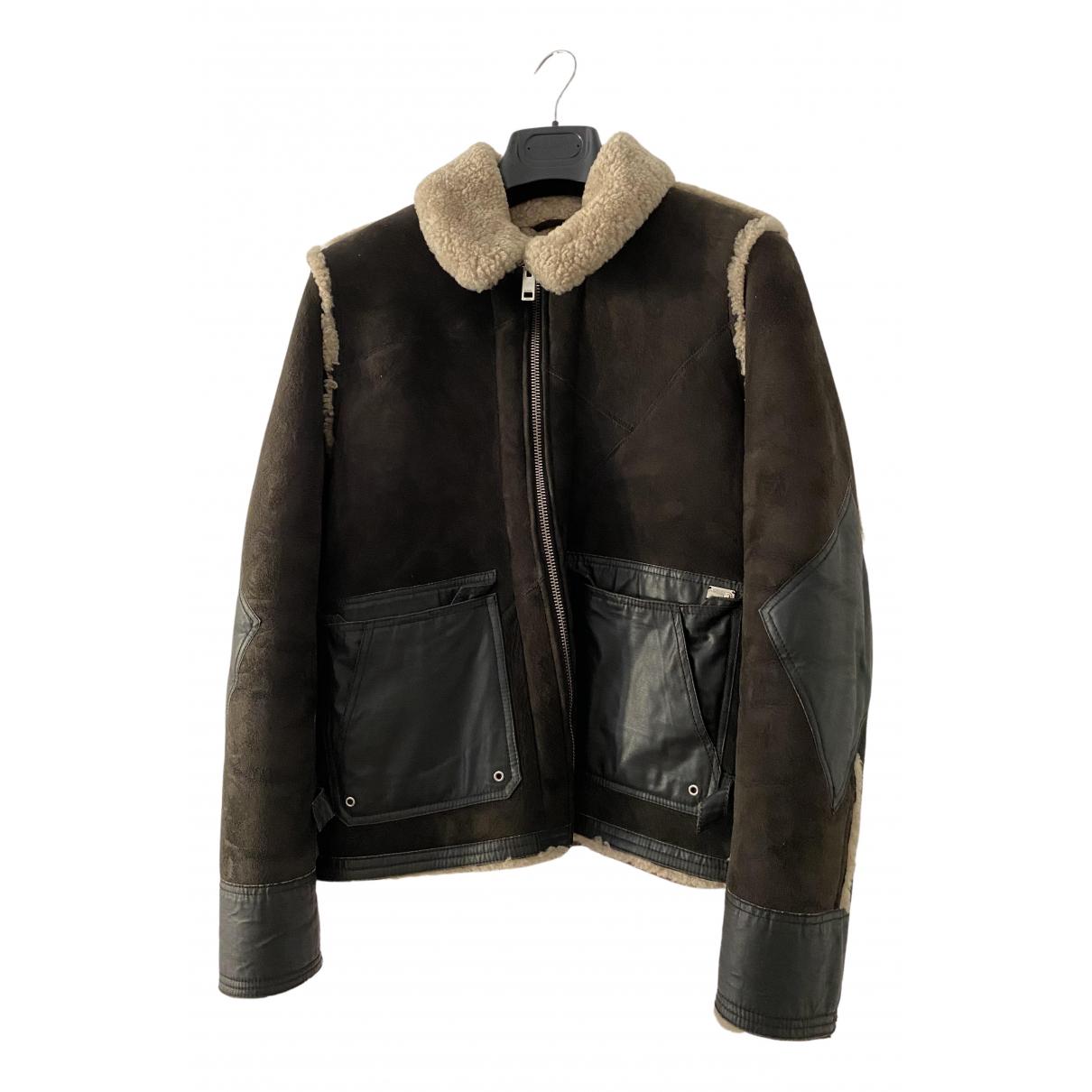 Diesel - Vestes.Blousons   pour homme en laine - marron