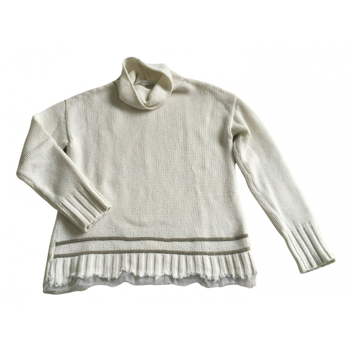 Fabiana Filippi - Pull   pour femme en laine - ecru