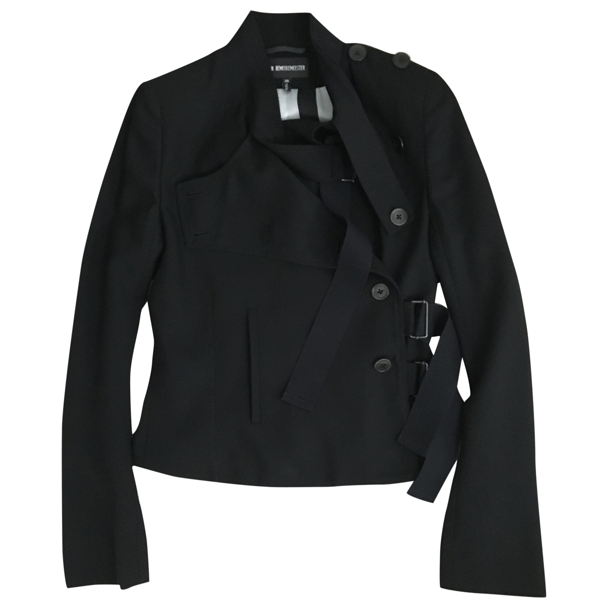Ann Demeulemeester N Black Wool jacket for Women 36 FR