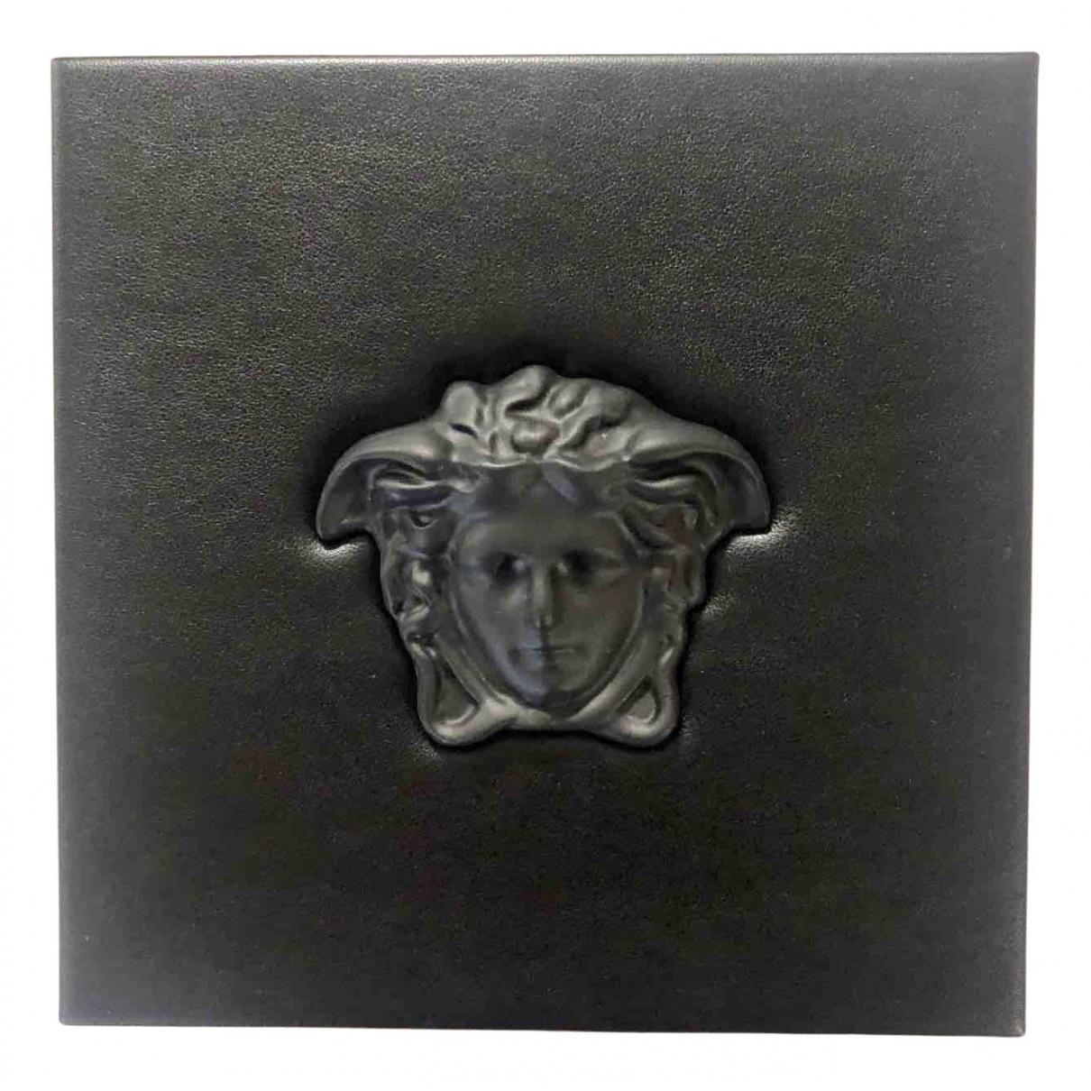 Versace - Objets & Deco   pour lifestyle en cuir - noir