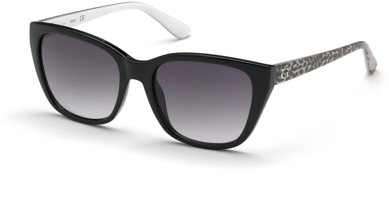 Guess Women's Gradient Gu7593 GU7593-05B-54 Black Rectangle Sunglasses