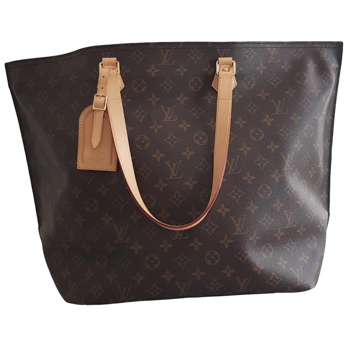 Bolso Alto de Cuero Louis Vuitton