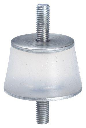 Taica THETA-TW SUS 25mm Shock Mount M6 35mm Diameter, Male to Male Alpha Gel
