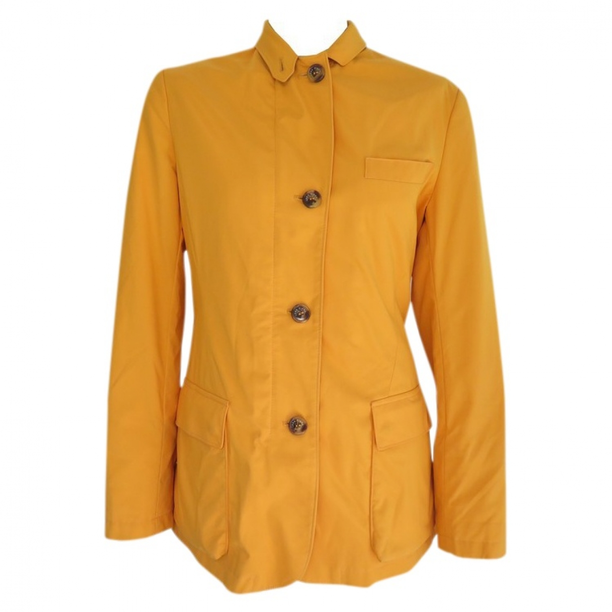 Loro Piana \N Yellow jacket for Women 38 FR