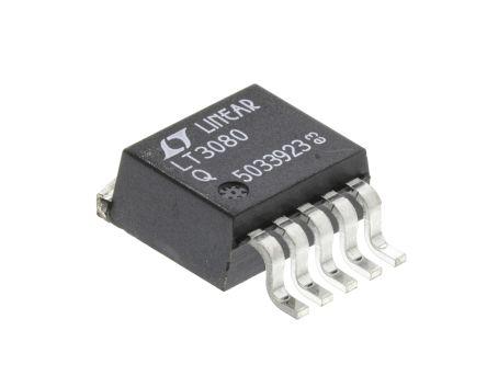 Analog Devices LT3080EQ#PBF, LDO Regulator, 1.4A Adjustable, 0 → 36 V, 1% 5-Pin, D2PAK (2)