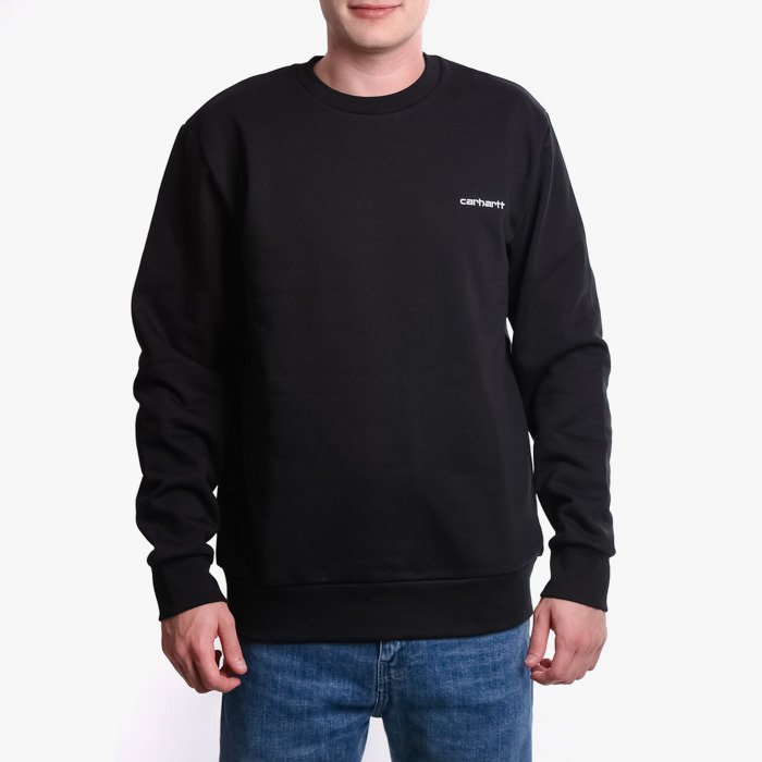 Carhartt Script Embroidery I027678 BLACK/WHITE