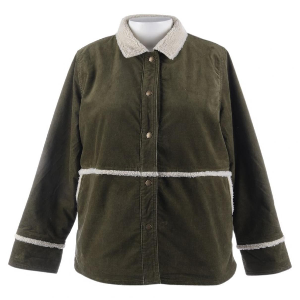 Barbour - Veste   pour femme en coton - vert
