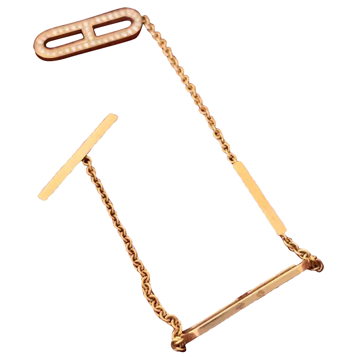 Pulsera Chaine d'Ancre de Oro rosa Hermes