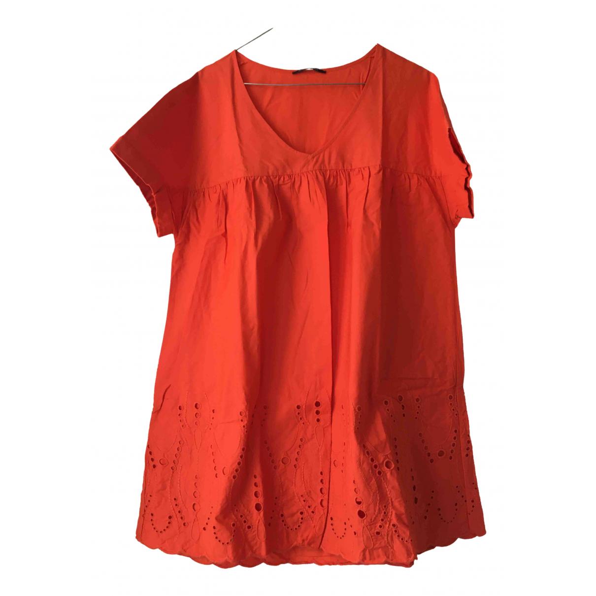 Princesse Tam Tam \N Kleid in  Orange Baumwolle