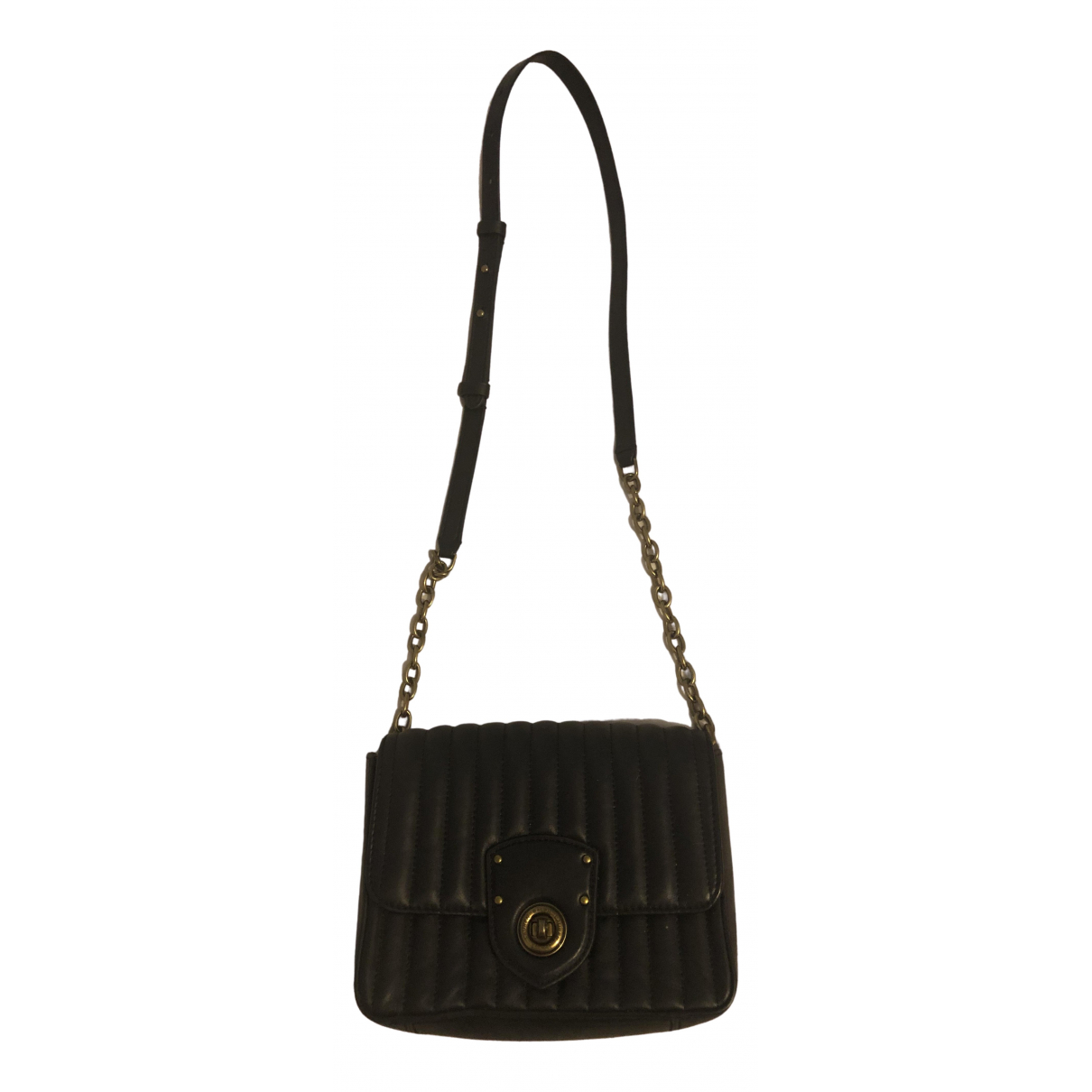 Lauren Ralph Lauren N Black Leather handbag for Women N