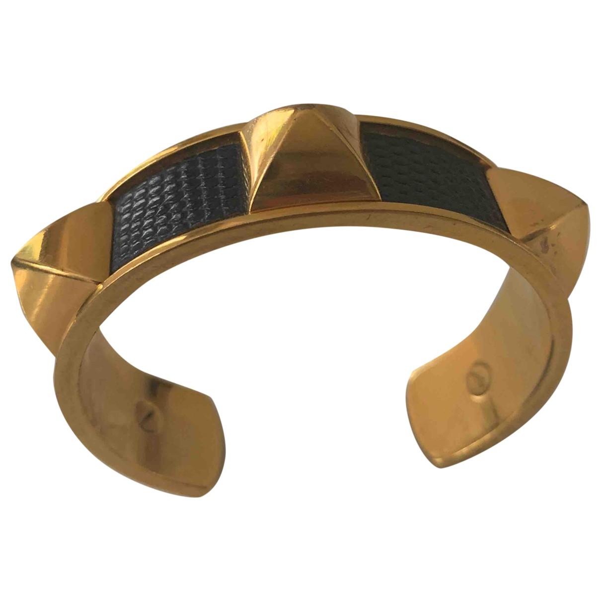 Hermes - Bracelet Medor pour femme en metal - bleu