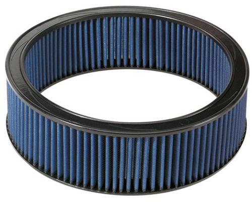 aFe Power Magnum FLOW Round Racing Pro 5R Air Filter 16.13 inch OD x 14.56 inch ID x 3 inch H with Expanded Metal
