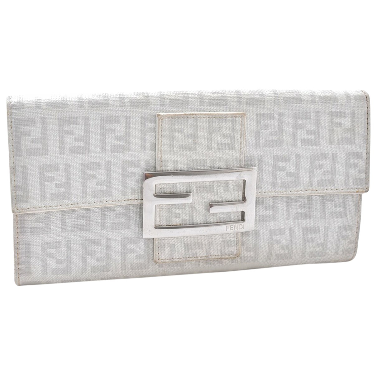 Fendi - Portefeuille   pour femme en autre - blanc