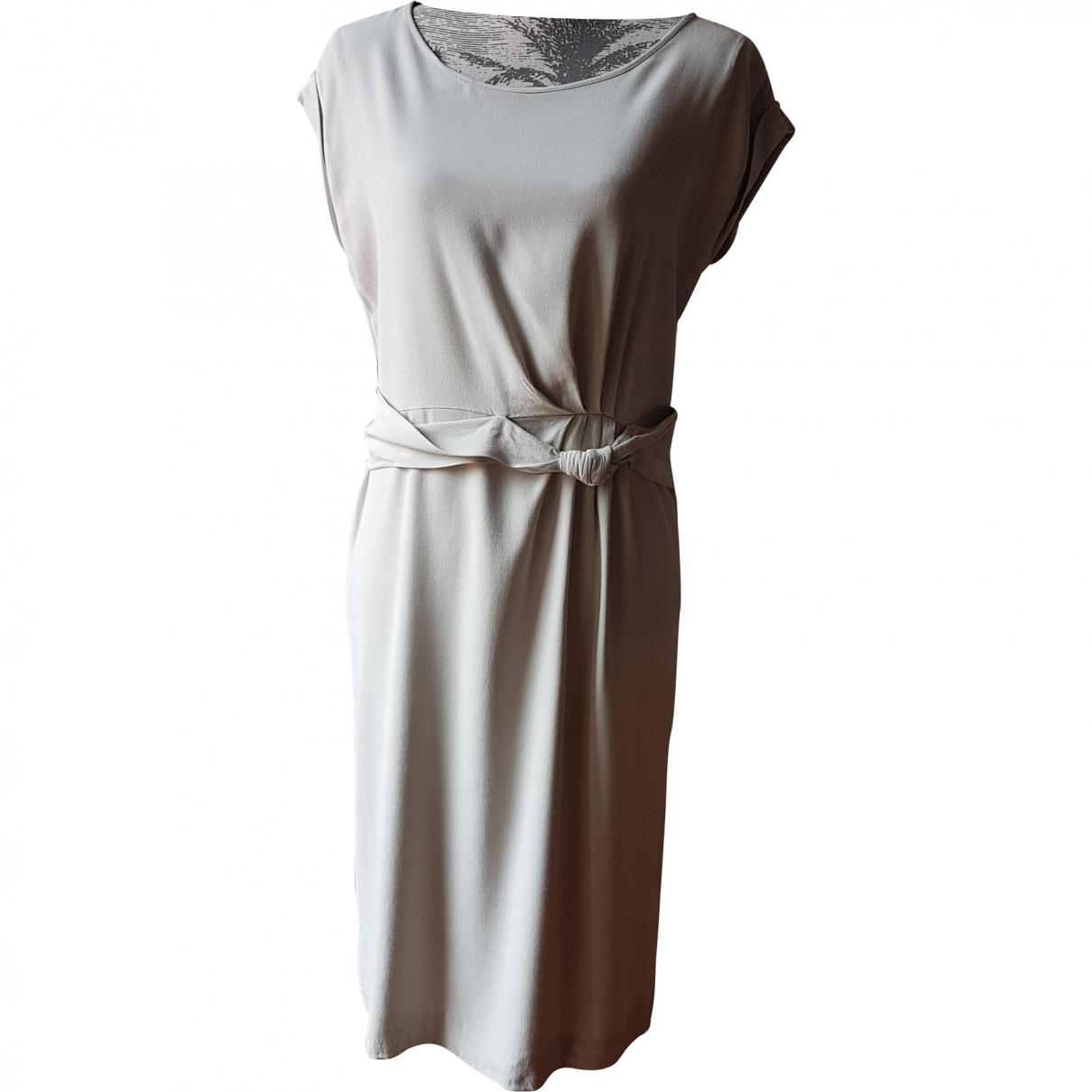 Gerard Darel \N Kleid in  Beige Viskose