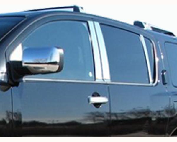 Quality Automotive Accessories 6-Piece Pillar Post Trim Kit Nissan Armada 2011