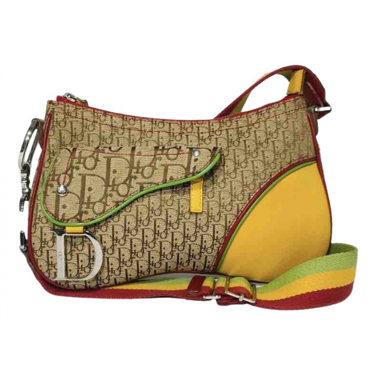 Dior Saddle Multicolour Cloth handbag for Women \N
