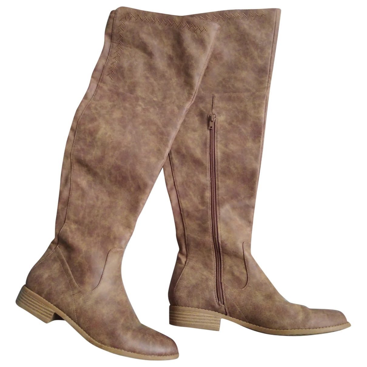 Free People \N Brown Boots for Women 7.5 US