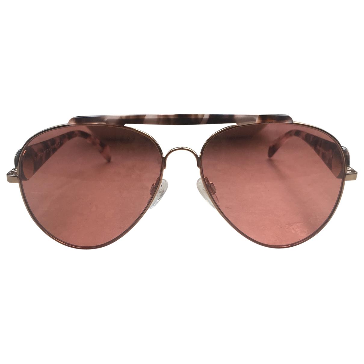 Gigi Hadid X Tommy Hilfiger \N Sonnenbrillen in  Braun Metall