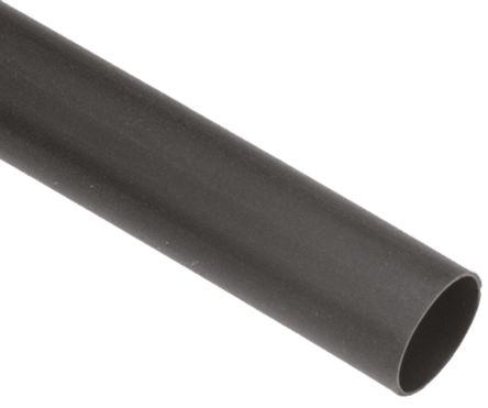 TE Connectivity Heat Shrink Tubing, Black 3.2mm Sleeve Dia. x 300m Length 2:1 Ratio, LSTT Series