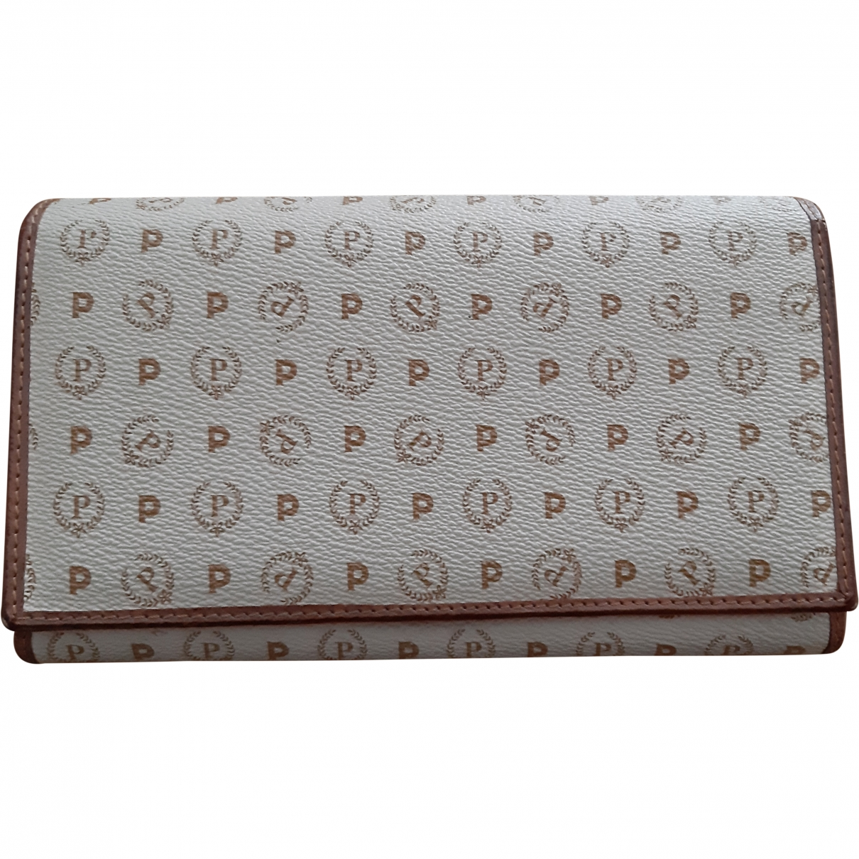 Pollini \N Beige Leather wallet for Women \N