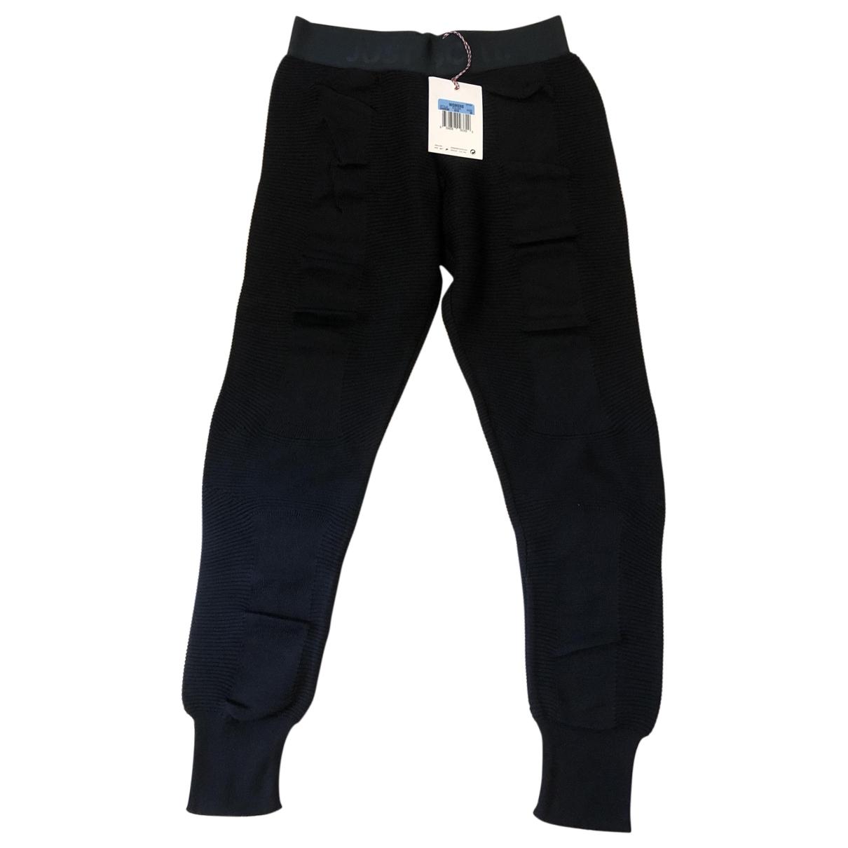 Nike \N Black Cotton Trousers for Women M International