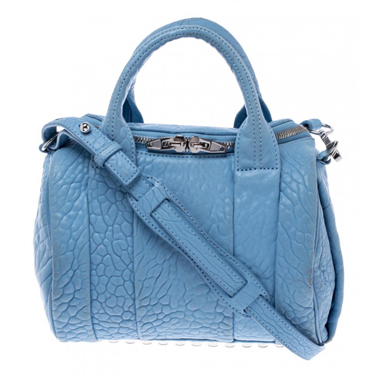 Alexander Wang \N Handtasche in  Blau Leder