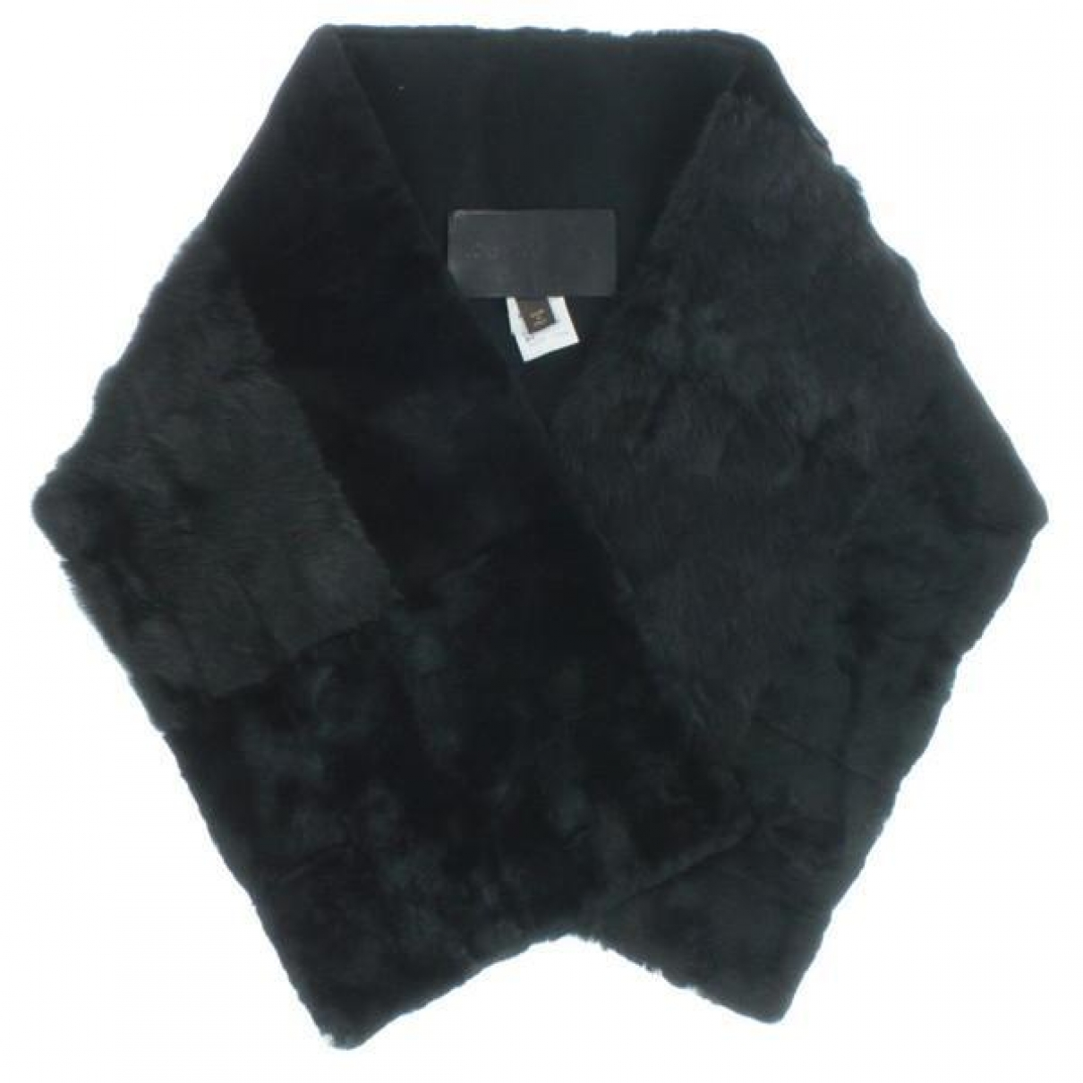 Louis Vuitton \N Black Fur scarf for Women \N