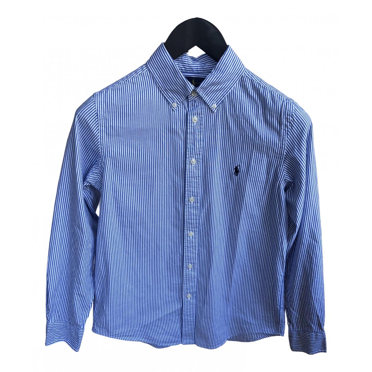 Polo Ralph Lauren \N Blue Cotton  top for Women 14-16 US