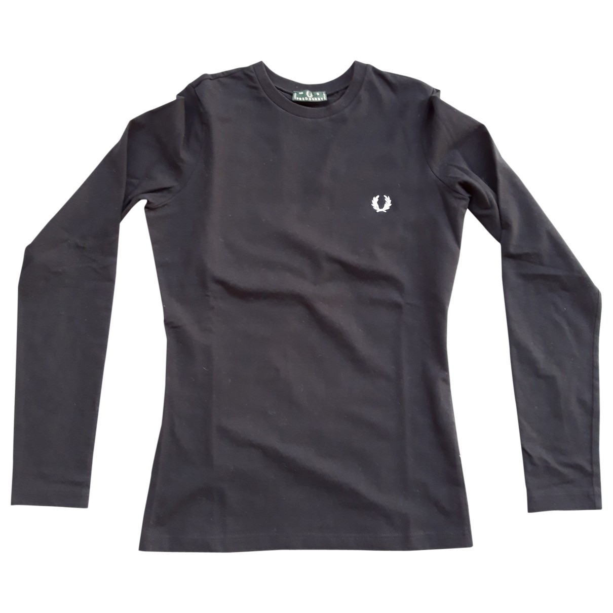 Fred Perry \N Black Cotton  top for Women S International