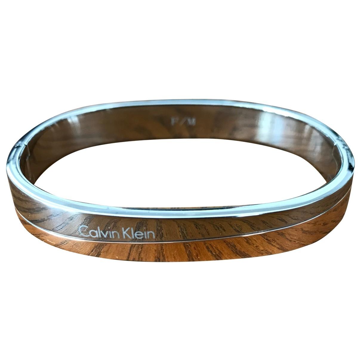 Calvin Klein - Bracelet   pour femme en acier - argente