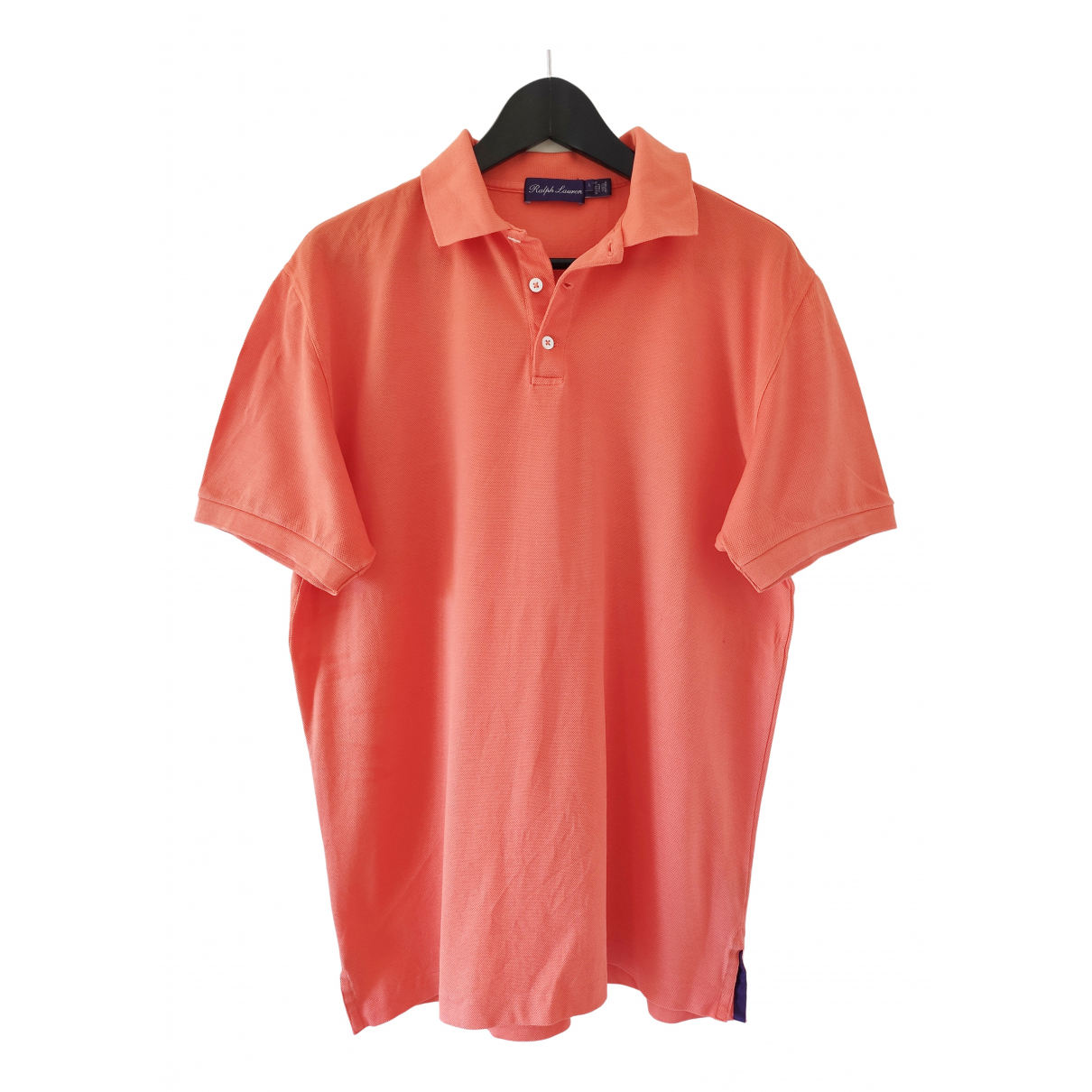 Ralph Lauren Purple Label - Polos   pour homme en coton - orange