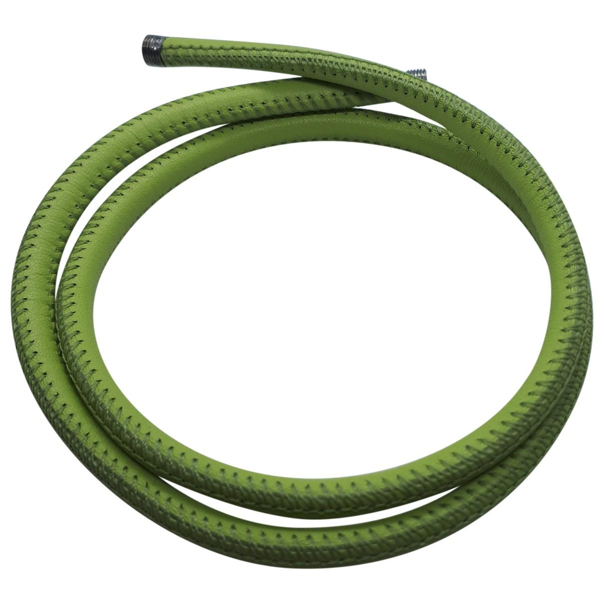 De Grisogono - Bracelet   pour femme en cuir - vert