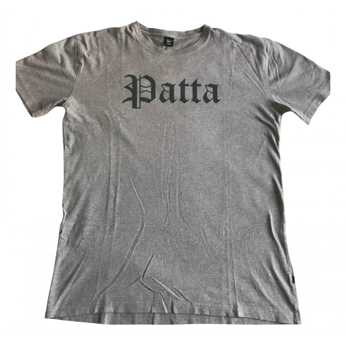 Patta - Tee shirts   pour homme en coton - gris