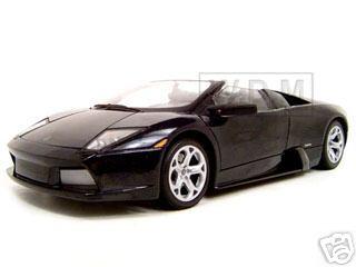 Lamborghini Murcielago Roadster Black 1/18 Diecast Model Car by Motormax