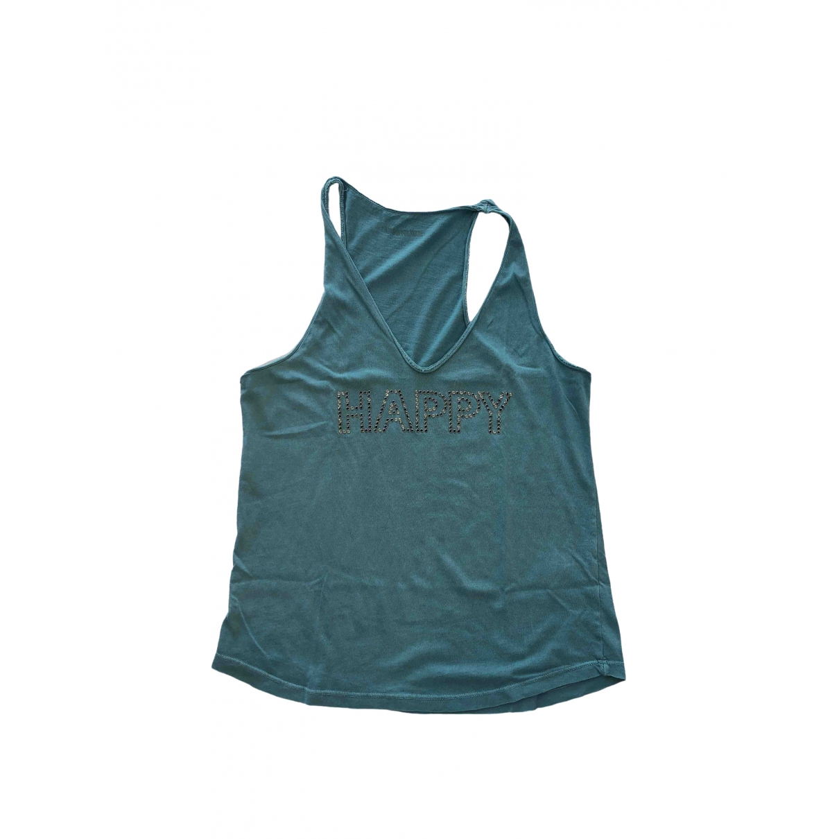 Zadig & Voltaire \N Turquoise Cotton  top for Women M International